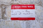 I Wish This Was - a city in midst of revolution - photo by Civic Center